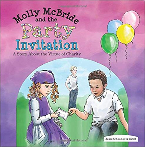 Molly McBride and the Party Invitation by Jean Schoonover-Egolf